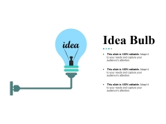 Idea Bulb Ppt PowerPoint Presentation Pictures Example