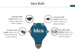 Idea Bulb Ppt PowerPoint Presentation Show Deck