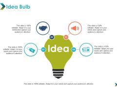 Idea Bulb Technology Marketing Ppt PowerPoint Presentation Portfolio Example