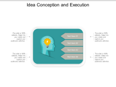 Idea Conception And Execution Ppt Powerpoint Presentation Icon Slides