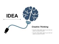 Idea Creative Thinking Ppt PowerPoint Presentation Styles Deck