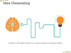 Idea Generating Ppt Powerpoint Presentation Inspiration Pictures