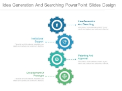 Idea Generation And Searching Powerpoint Slides Design