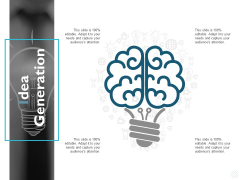 Idea Generation Innovation Management Ppt PowerPoint Presentation Gallery Slide