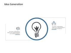 Idea Generation Innovation Management Ppt PowerPoint Presentation Inspiration Background Image