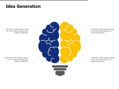 Idea Generation Innovation Ppt PowerPoint Presentation File Topics