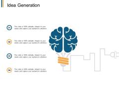 Idea Generation Innovation Ppt PowerPoint Presentation Icon Designs