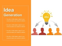 Idea Generation Ppt PowerPoint Presentation Model Format Ideas