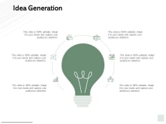 Idea Generation Technology Marketing Ppt PowerPoint Presentation File Design Inspiration