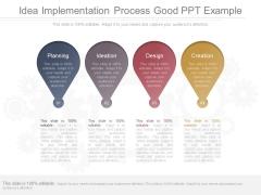 Idea Implementation Process Good Ppt Example