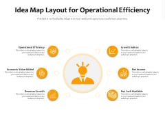 Idea Map Layout For Operational Efficiency Ppt PowerPoint Presentation Infographic Template Graphic Tips PDF