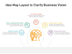 Idea Map Layout To Clarify Business Vision Ppt PowerPoint Presentation Styles Graphic Images PDF