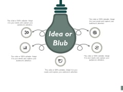 Idea Or Blub Technology Marketing Icon Ppt PowerPoint Presentation Icon Guide