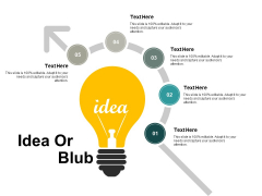 Idea Or Blub Technology Ppt Powerpoint Presentation Ideas Graphics Pictures