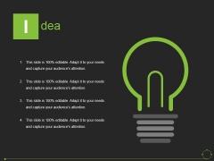 Idea Ppt PowerPoint Presentation File Slide Portrait