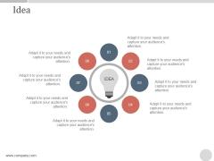 Idea Ppt PowerPoint Presentation Graphics