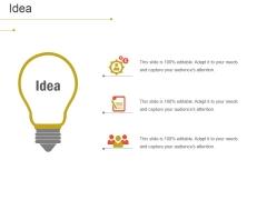 Idea Ppt PowerPoint Presentation Outline Aids