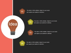Idea Ppt PowerPoint Presentation Portfolio