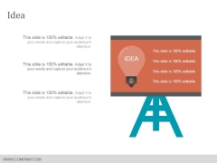 Idea Ppt Powerpoint Presentation Show