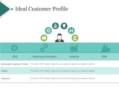 Ideal Customer Profile Template 1 Ppt PowerPoint Presentation Gallery