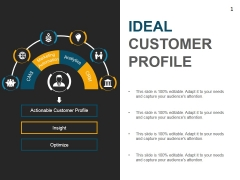 Ideal Customer Profile Template 1 Ppt PowerPoint Presentation Portfolio