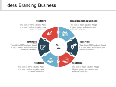 Ideas Branding Business Ppt PowerPoint Presentation Professional Rules Cpb