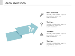 Ideas Inventions Ppt Powerpoint Presentation File Designs Cpb