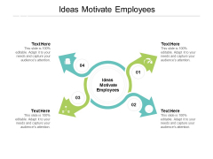Ideas Motivate Employees Ppt PowerPoint Presentation Infographics Show Cpb