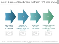 Identify Business Opportunities Illustration Ppt Slide Styles