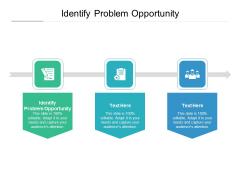 Identify Problem Opportunity Ppt PowerPoint Presentation Summary Graphics Design Cpb Pdf