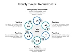 Identify Project Requirements Ppt PowerPoint Presentation Infographic Template Elements Cpb