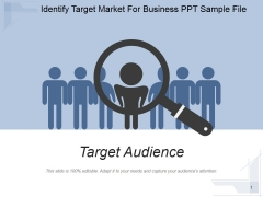 Identify Target Market For Business Ppt PowerPoint Presentation Background Image