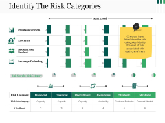 Identify The Risk Categories Ppt PowerPoint Presentation Styles Backgrounds
