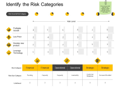 Identify The Risk Categories Profitable Growth Ppt PowerPoint Presentation Portfolio Introduction