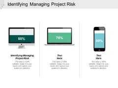 Identifying Managing Project Risk Ppt Powerpoint Presentation Visual Aids Layouts Cpb