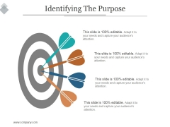 Identifying The Purpose Ppt PowerPoint Presentation Themes