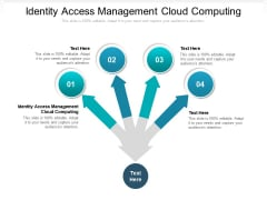 Identity Access Management Cloud Computing Ppt PowerPoint Presentation Infographic Template Tips Cpb Pdf