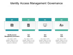 Identity Access Management Governance Ppt PowerPoint Presentation Summary Images Cpb Pdf
