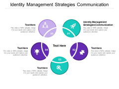 Identity Management Strategies Communication Ppt PowerPoint Presentation Pictures Example File Cpb