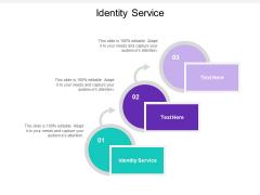 Identity Service Ppt PowerPoint Presentation Portfolio Sample Cpb