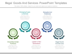 Illegal Goods And Services Powerpoint Templates