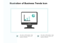 Illustration Of Business Trends Icon Ppt PowerPoint Presentation Gallery Example