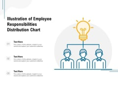 Illustration Of Employee Responsibilities Distribution Chart Ppt PowerPoint Presentation Rules