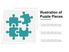 Illustration Of Puzzle Pieces Ppt PowerPoint Presentation Professional Templates