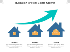 Illustration Of Real Estate Growth Ppt PowerPoint Presentation Gallery Themes