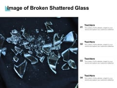 Image Of Broken Shattered Glass Ppt PowerPoint Presentation Show Layout