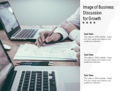 Image Of Business Discussion For Growth Ppt PowerPoint Presentation Show Example