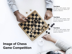 Image Of Chess Game Competition Ppt PowerPoint Presentation Summary Layout