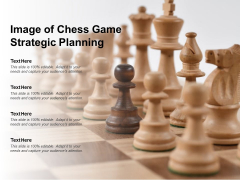 Image Of Chess Game Strategic Planning Ppt PowerPoint Presentation Summary Rules