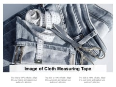 Image Of Cloth Measuring Tape Ppt PowerPoint Presentation Model Rules